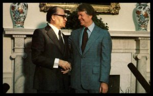 President Carter and Menachem Begin