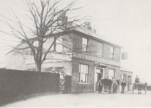 The Old Red House In Redbridge London in 1902 Postcard