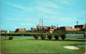 Vtg Seaford Delaware DE Chrome Postcard