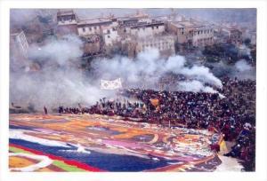 Religious ceremony , Lhasa , Tibet , China, 1990s #2