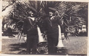 RP; Tuba Players USN Band, Charleston, South Carolina, 1918