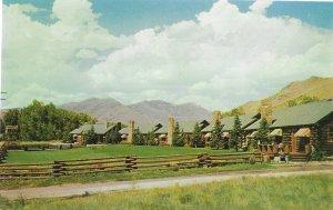 Etchen's  Log Cabin Motel Ketchum Idaho 20 Rustic Units