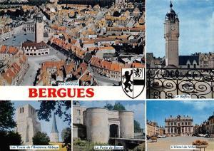 France Bergues, La Porte de Bierne L'Hotel de Ville Abbaye Le Beffroi