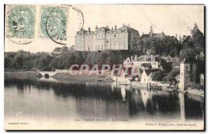 Old Postcard Sand Le Chateau