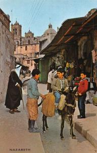 Israel Nazareth Market Street Scene of Picturesque Street Life