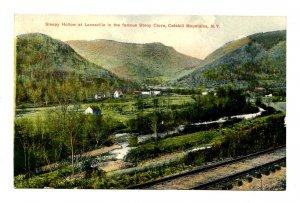 NY - Catskills. Sleepy Hollow at Lanesville, Stony Clove