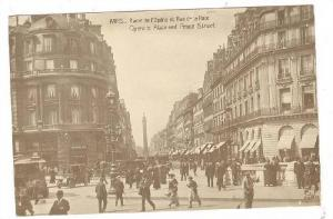 RP, Opera Place and Peace Street, Paris, France, 1900-1910s
