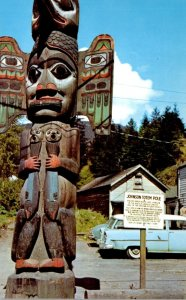 Alaska Ketchikan Indian Totem Pole