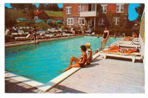 Swimming Pool, The Manor House, Ste. Agathe Des Monts, Quebec, Canada, 40-60´s