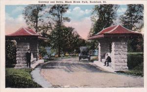 Illinois Rockford Gateway and Drive Black Hawk Park