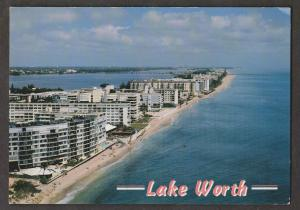 Hotels & Condos On The Beach Fort Worth, Florida - 1960s Unused # 3