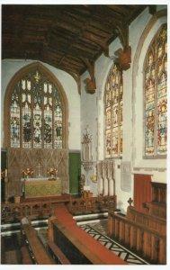 Essex; Dedham Church Interior PPC By Jarrold, Unused, c 1970's
