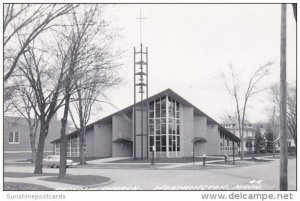 Minnesota Worthington Catholic Church Real Photo