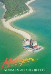 Round Island LIGHTHOUSE , Michigan . 1970-80s