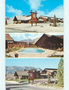 Unused Pre-1980 SIERRA NEVADA INN MOTEL Mammoth Lakes California CA s2695