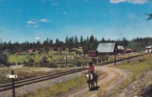 Grattan's Big G Guest Ranch,  Lone Butte,  B.C.,  Canada,  40-60s