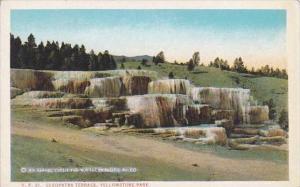 Wyoming Yellowstone Park Cleopatra Terrace