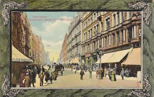 TUCK #900; BIRMINGHAM , England , 00-10s ; Corporation Street from New Street