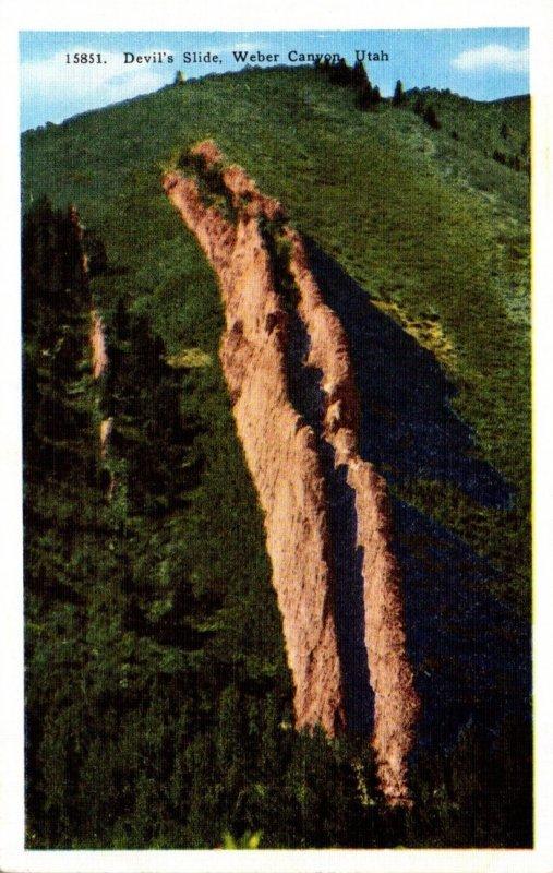 Utah Weber Canyon Devil's Slide