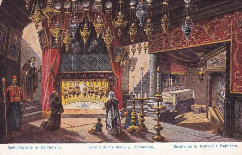 BETHLEHEM, 00-10s ; Church of the Nativity , Interior #2