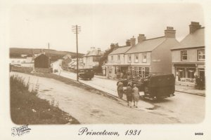 Princetown Dartmoor Devon in 1931 Postcard