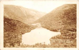 13054  NH Franconia Notch 1940´s   Echo Lake real photo
