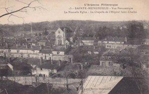 SAINTE MENEHOULD, Marne, France, 1900-1910's