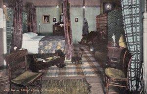 DAYTON, Ohio, 1909; Bed Room, Oldest House in Dayton