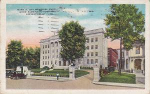 Exterior,  Mary A. Ott Memorial Bldg.,  Good Samaritan Hospital,  Lexington, ...