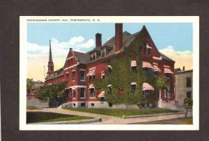 NH Rockingham County Jail Portsmouth New Hampshire Postcard PC