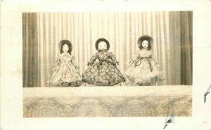 Doll Toys Interior 1940s Tulsa Oklahoma RPPC Photo Postcard 20-8453