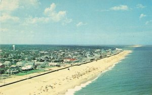 Postcard Greetings From Rehoboth Beach Delaware Helicopter View Unposted VPC0.
