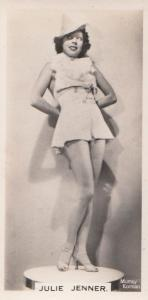 Julie Jenner Hollywood Actress Rare Real Photo Cigarette Card