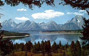 Wyoming View Of Jackson Lake