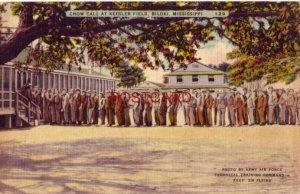 1944 Soldiers Mail CHOW CALL, KESSLER FIELD, BILOXI, MS. Pvt Robert Bauer