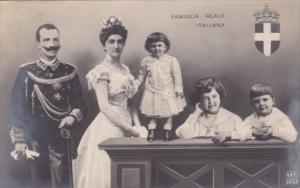 Famiglia Reale Italiana The Royal Family Of Italy