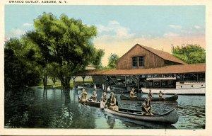 NY - Auburn. Owasco Outlet