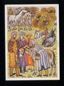 166723 Arabian Thief DONKEY by MELIKHOV old Russian PC