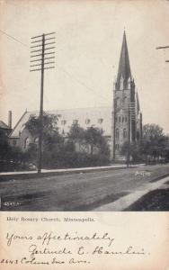 MINNEAPOLIS , Minnesota , PU-1907; Holy Rosary Church
