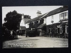Nottinghamshire Retford BARNBY MOOR Ye Olde Bell Hotel c1930's RP Postcard