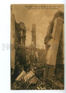 120897 Italy MESSINA Earthquake Terremoto del 28 dicembre 1908