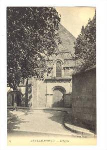 L'Eglise, Azay-Le-Rideau (Indre-et-Loire), France, 1900-1910s