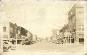 Eldorado El Dorado KS Main St. Real Photo Postcard