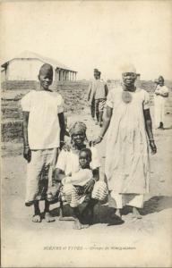 CPA Sénégal - Scénes et Types - Groupe de Sénégalaises (84680)