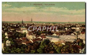 Old Postcard Mulhouse General view