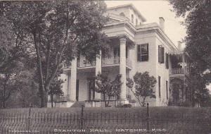 Mississippi Natchez Stanton Hall Built In 1851 Albertype