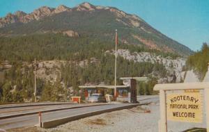 Radium Hot Springs Entrance Postcard