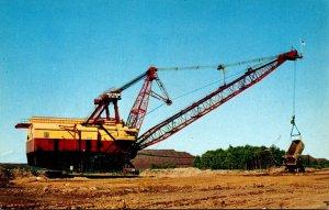 Minnesota Mesabi Iron Range Giant Dragline