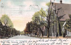 DAYTON OHIO WEST SECOND STREET~TUCK RAPHOTYPE PUBL POSTCARD 1907