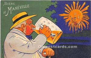 Advertising Postcard - Old Vintage Antique  Biere de Mexeville